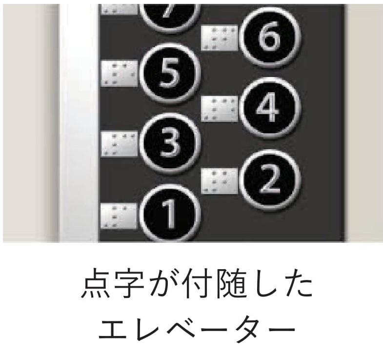 調査 視覚障碍者のための音声付きエレベータボタン